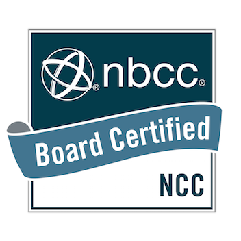 NBCC Board Certified - NCC Badge